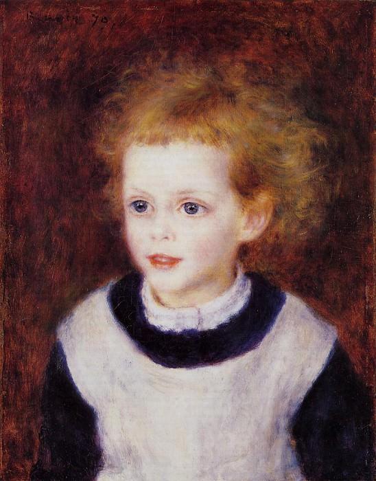 Margot Berard - 1879. Pierre-Auguste Renoir