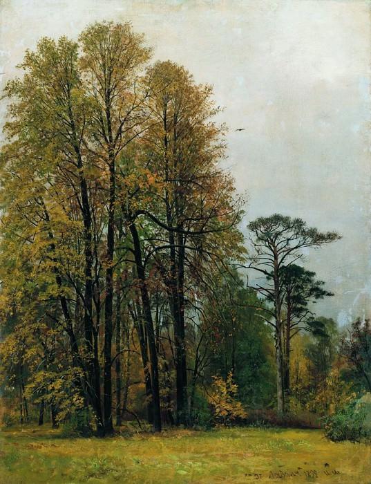 Autumn 1892 107h81. Ivan Ivanovich Shishkin