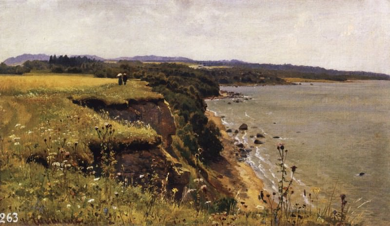 Along the shores of the Gulf of Finland (Udrias near Narva). 1888 34, 3h57. 5. Ivan Ivanovich Shishkin