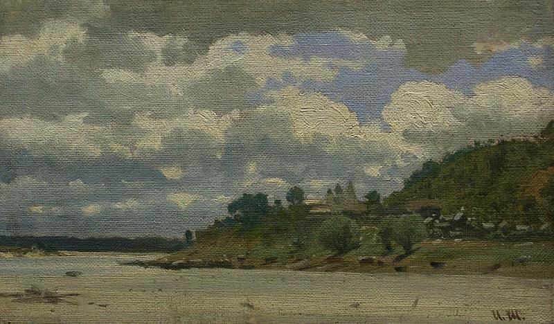 River Bank. Ivan Ivanovich Shishkin