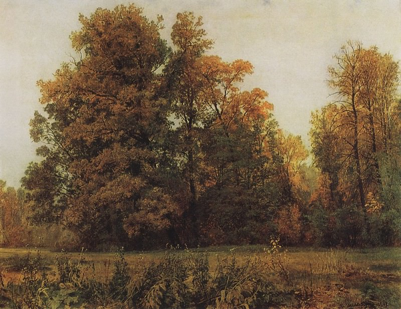 Autumn 1892 82h108. Ivan Ivanovich Shishkin