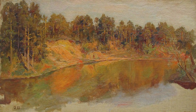 Forest Lake. Ivan Ivanovich Shishkin
