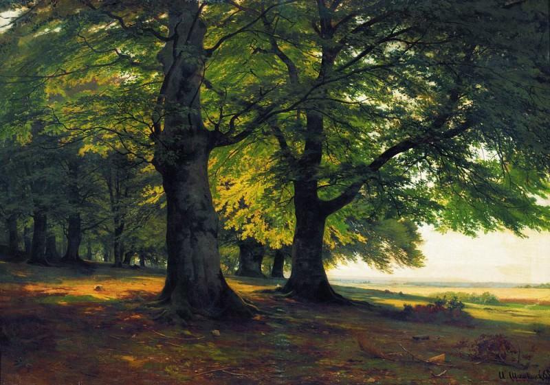 Teutoburg Forest 1865 67h95. Ivan Ivanovich Shishkin