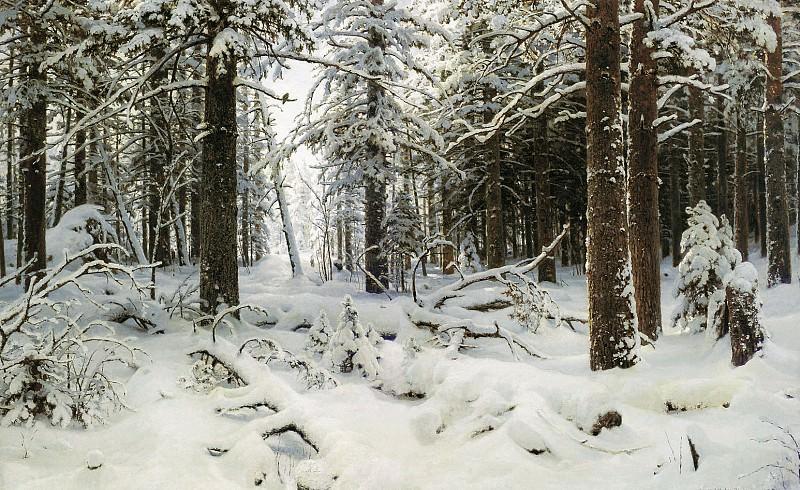Winter 1890 125, 5h204. Ivan Ivanovich Shishkin