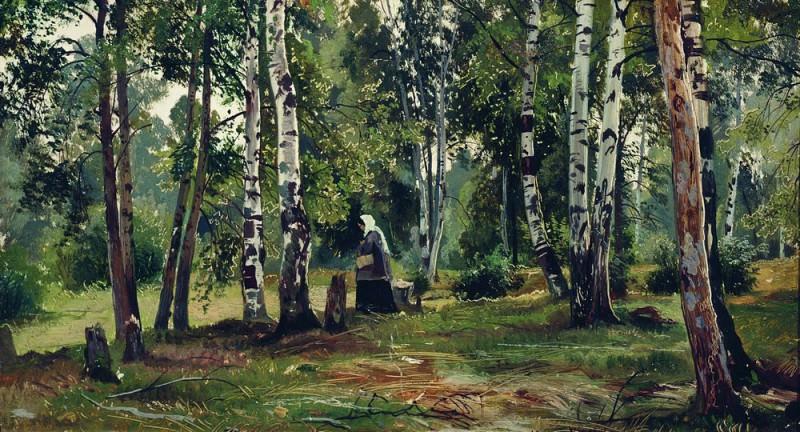 Birchwood. Ivan Ivanovich Shishkin