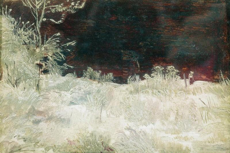 Winter. Moscow. Etude 14h22. Ivan Ivanovich Shishkin