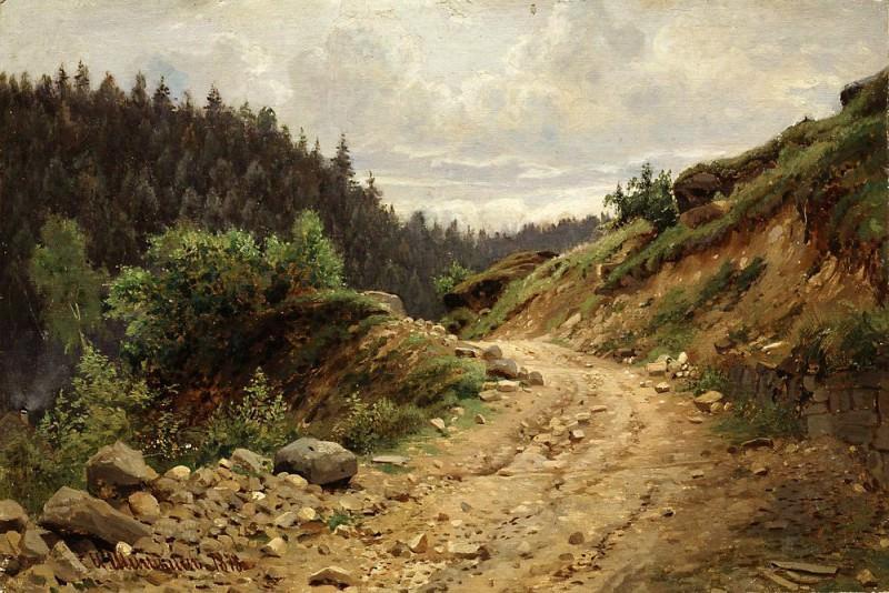Road 1878. Ivan Ivanovich Shishkin