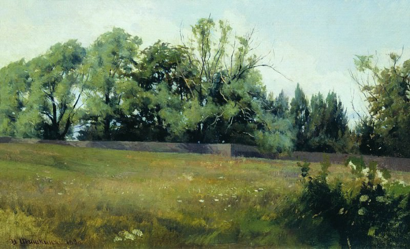 Landscape. 1898 25, 5h34, 5. Ivan Ivanovich Shishkin