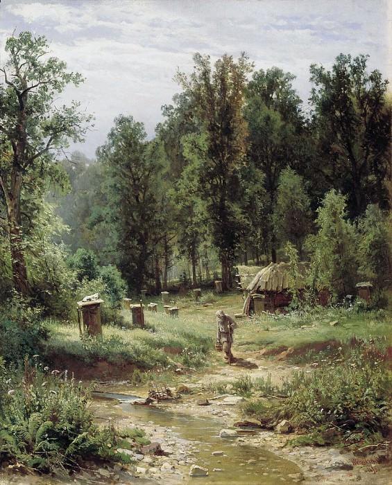 Пасека в лесу 1876 80х64. Иван Иванович Шишкин