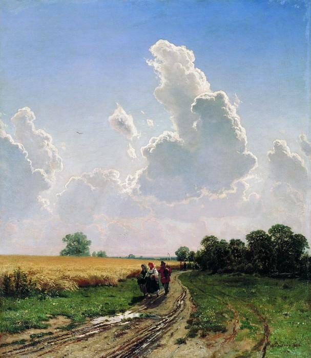 Noon. Etude 1886 65h56. Ivan Ivanovich Shishkin