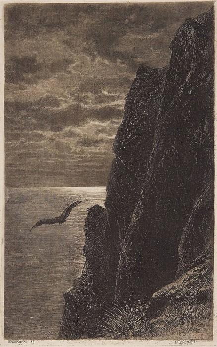 Gurzuf. 1885 23, 8h15. Ivan Ivanovich Shishkin