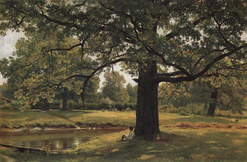Oaks in Old Peterhof 1891 70h105. Ivan Ivanovich Shishkin
