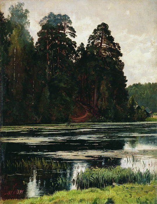 Pond 1881 38h29. 5. Ivan Ivanovich Shishkin