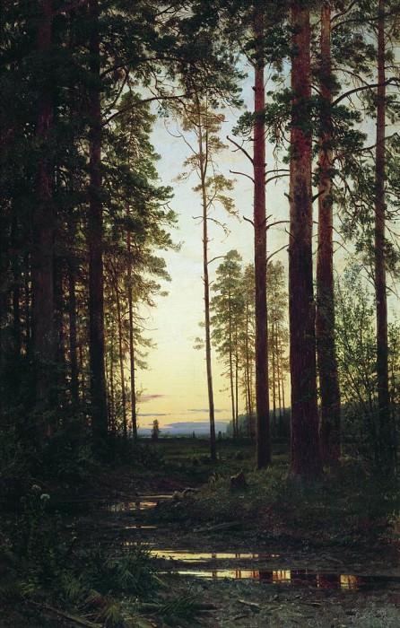 Twilight 1883 118h75. Ivan Ivanovich Shishkin