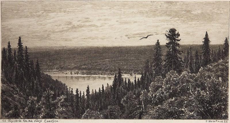 Kama. 1885 15h27. Ivan Ivanovich Shishkin