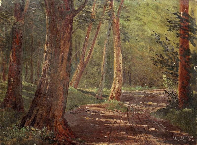 Лесная дорожка. 1892. Иван Иванович Шишкин