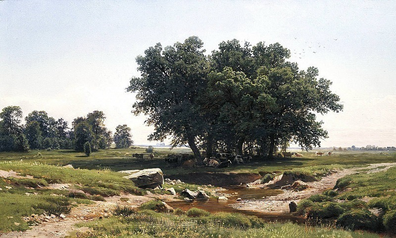 Oaks. Ivan Ivanovich Shishkin