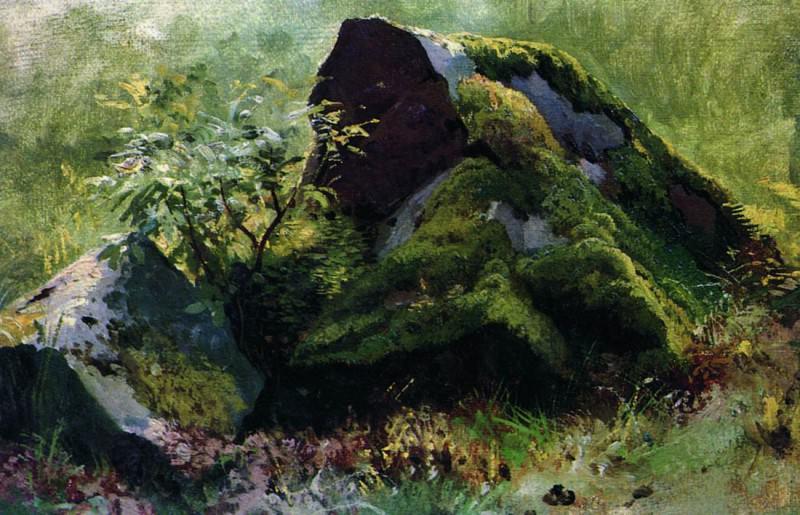 Камни. 1880-1890-е 19х28. Иван Иванович Шишкин