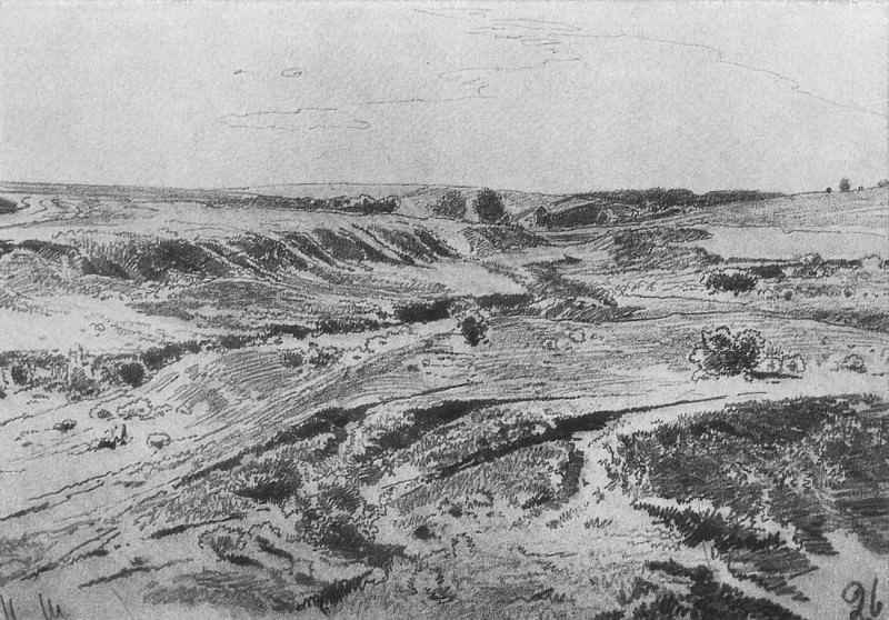 Ravines. 1880, 22, 3h31, 5. Ivan Ivanovich Shishkin