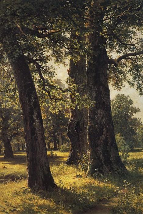 1887 Oaks 147h108. Ivan Ivanovich Shishkin