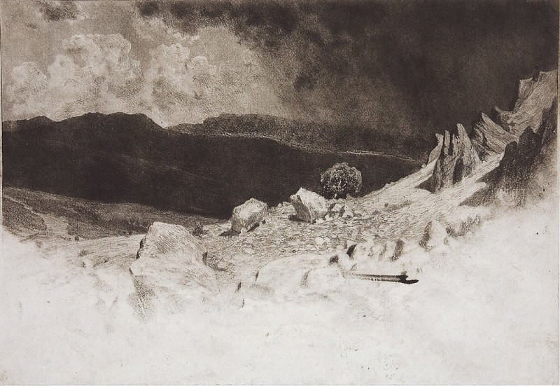 Crimea. 1886 28, 5h31. Ivan Ivanovich Shishkin