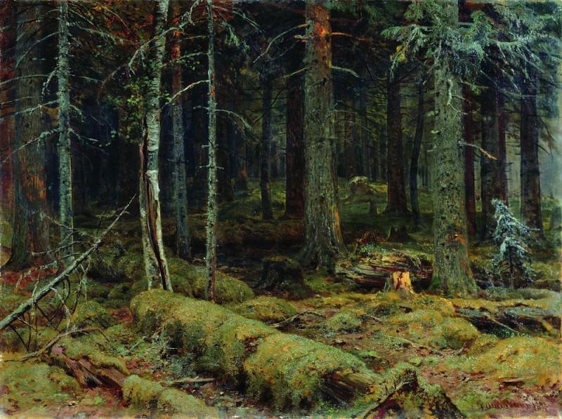 Dark Forest 1890 92h124. 5. Ivan Ivanovich Shishkin