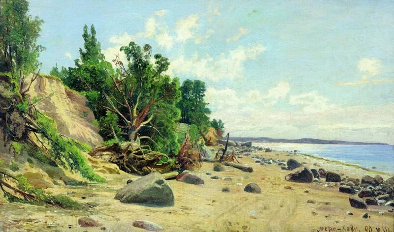 Seashore 35h59. Ivan Ivanovich Shishkin