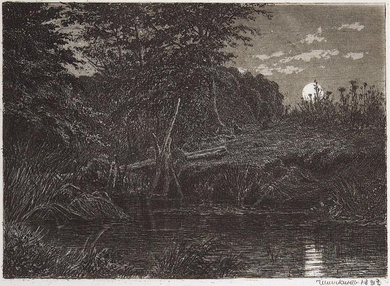 Bridge. 1873-1892 19, 3h26. Ivan Ivanovich Shishkin