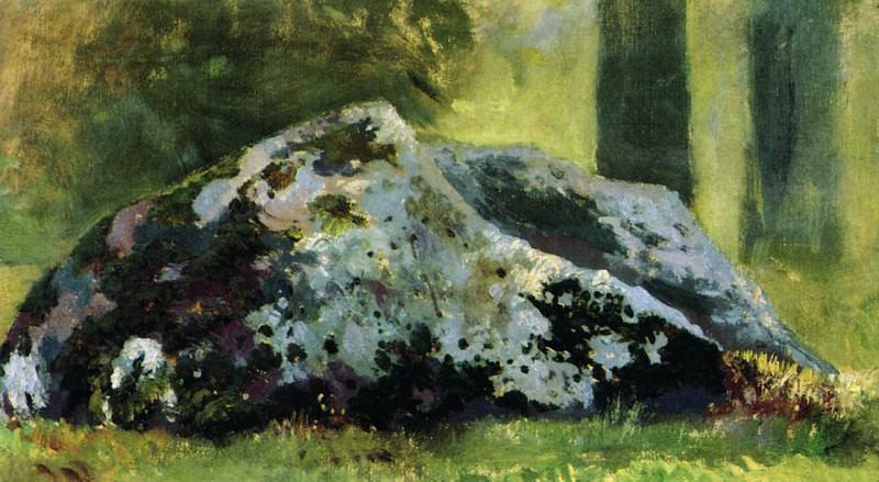 Камни. 1880-1890-е. Этюд 11х22. Иван Иванович Шишкин