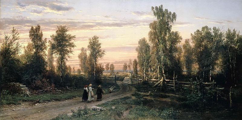 Evening. Ivan Ivanovich Shishkin