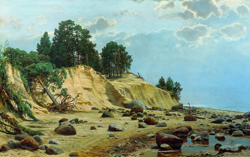 After the storm. Mary Hovey 1891. Ivan Ivanovich Shishkin