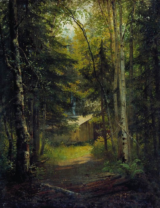 lodge vlesu 1870 73h56. Ivan Ivanovich Shishkin