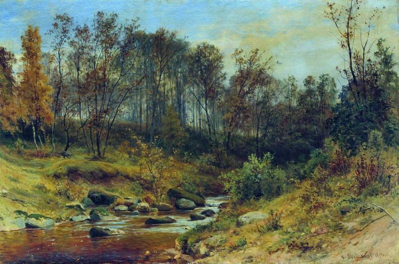 Forest Stream 1896 68h105. Ivan Ivanovich Shishkin