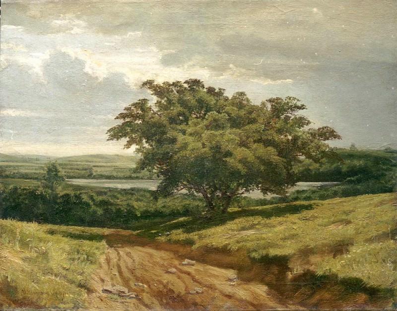 Road 1874. Ivan Ivanovich Shishkin