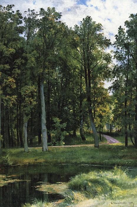 Forest road 1897 111h83, 5. Ivan Ivanovich Shishkin