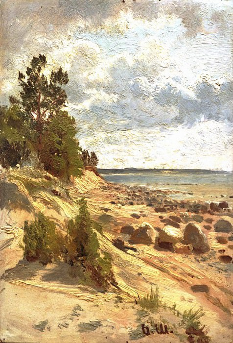 Seashore 2. Ivan Ivanovich Shishkin