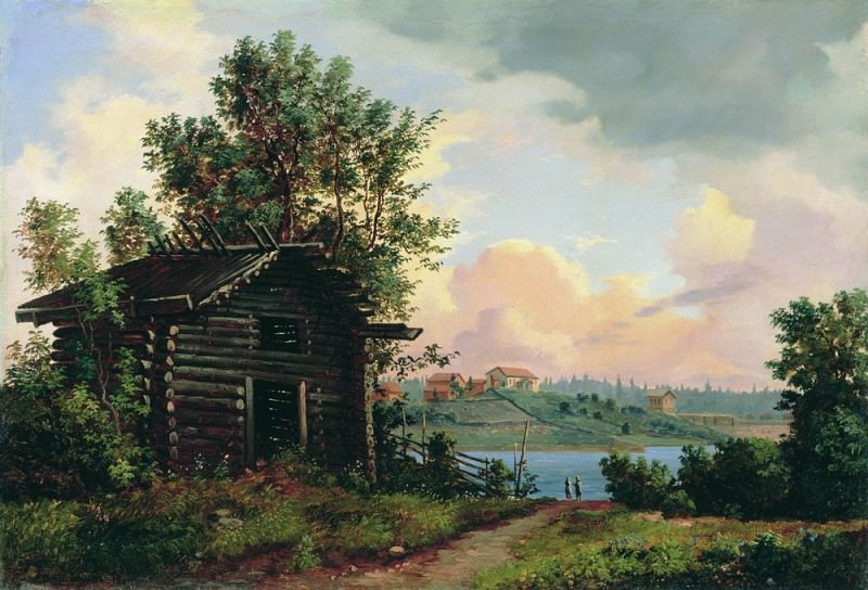 Landscape 1861 34. 5h51. Ivan Ivanovich Shishkin