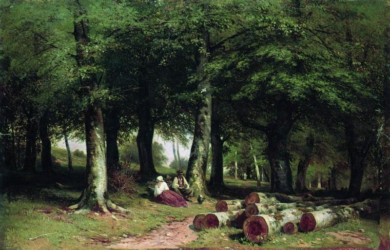 In the Grove 1869 35. 5h53. 5. Ivan Ivanovich Shishkin
