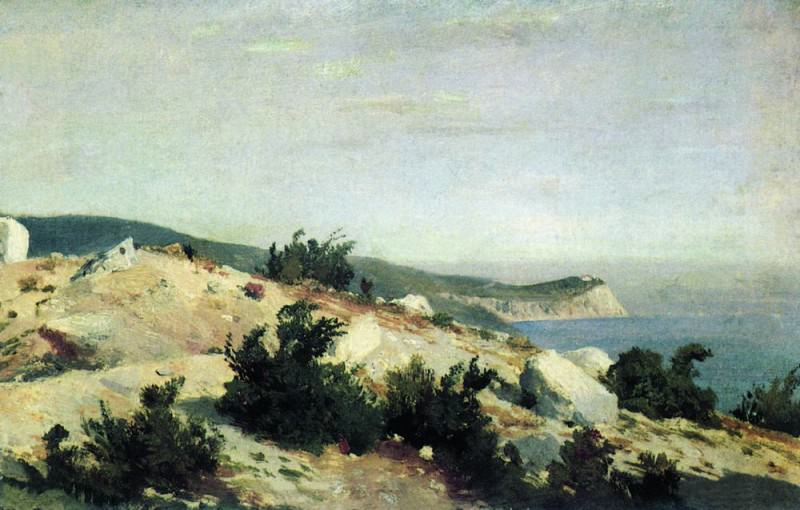 Cape Ai-Todor. Crimea 1879 21h33. 5. Ivan Ivanovich Shishkin