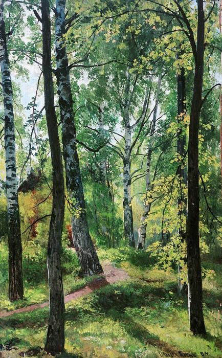 Deciduous Forest 1897 62, 2h41, 7. Ivan Ivanovich Shishkin