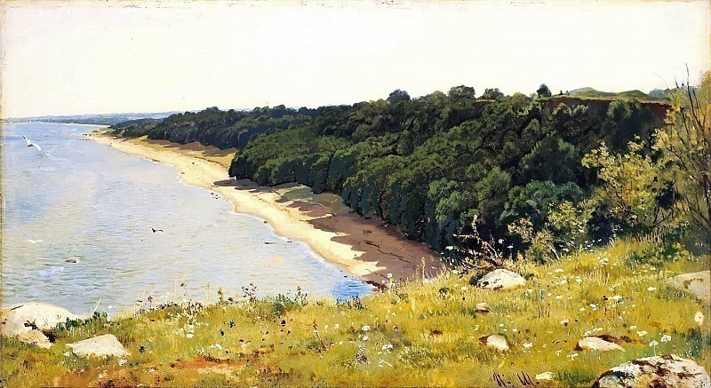 By the sea. Ivan Ivanovich Shishkin
