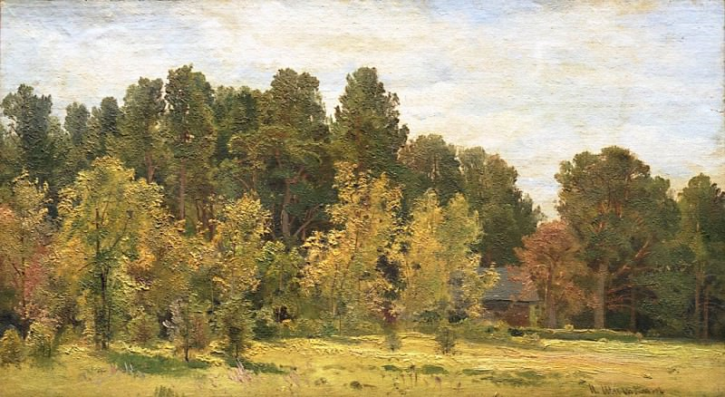 forest edges a. Ivan Ivanovich Shishkin