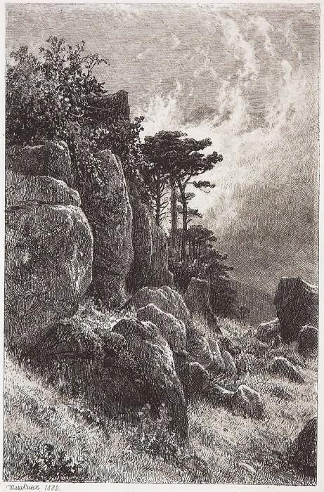 Crimean kind. 1882 24h15. 8. Ivan Ivanovich Shishkin