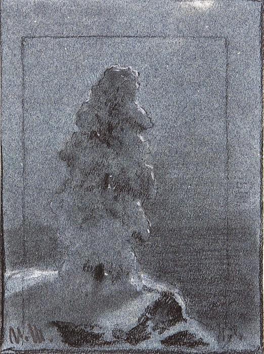 Pine. 1890 16, 6h12, 2. Ivan Ivanovich Shishkin
