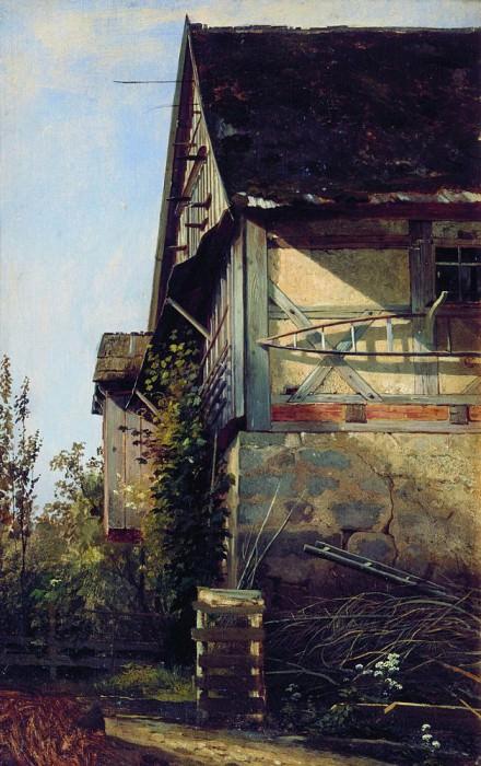 House in Dusseldorf in 1865 58. 2х36 3. Ivan Ivanovich Shishkin