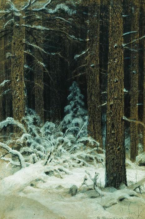winter. 1883 78, 3h51, 2. Ivan Ivanovich Shishkin