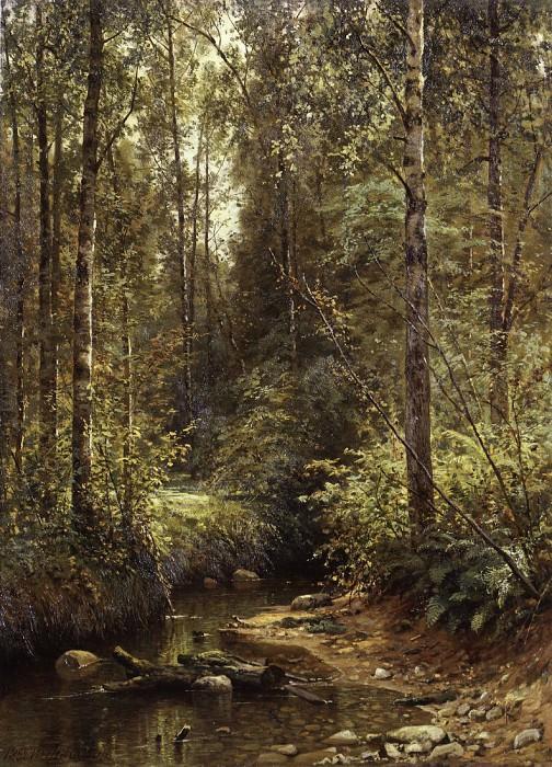 Forest Stream. 1882 93, 7h68, 6. Ivan Ivanovich Shishkin