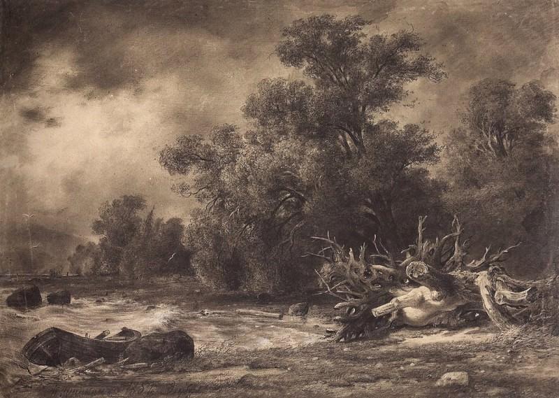 Dubky under Sestroretsk. 1857 48h66, 3. Ivan Ivanovich Shishkin
