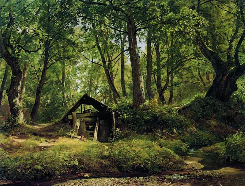Solna day. Merikyul 1894 81h110. Ivan Ivanovich Shishkin