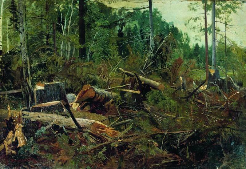 Felling 1880 38, 5h55, 3. Ivan Ivanovich Shishkin